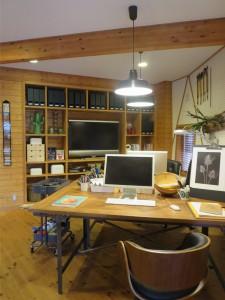 ここがフリーデザイナーの両親の職場。聖域である。
